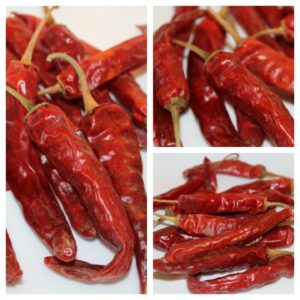 Samba Red Chilies Dried, 500g