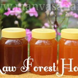 Raw Forest Honey (100% Pure & Unprocessed), 750g